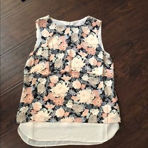 Rose & Olive Sleeveless Floral Print Top